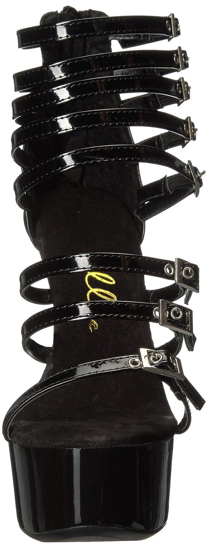 Ellie Shoes Women's 609-Neve Platform Dress Sandal B00P7RM6DA 12 B(M) US Black