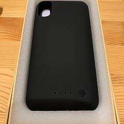 Amazon Iphonex Xs 10 対応 バッテリーケース 6500mah 大容量 バッテリー内蔵ケース Iphonexs X 10 対応 充電ケース アイフォンx Xs 10 適応 Battery Case 5 8インチ用 黒 ケース型バッテリー 通販