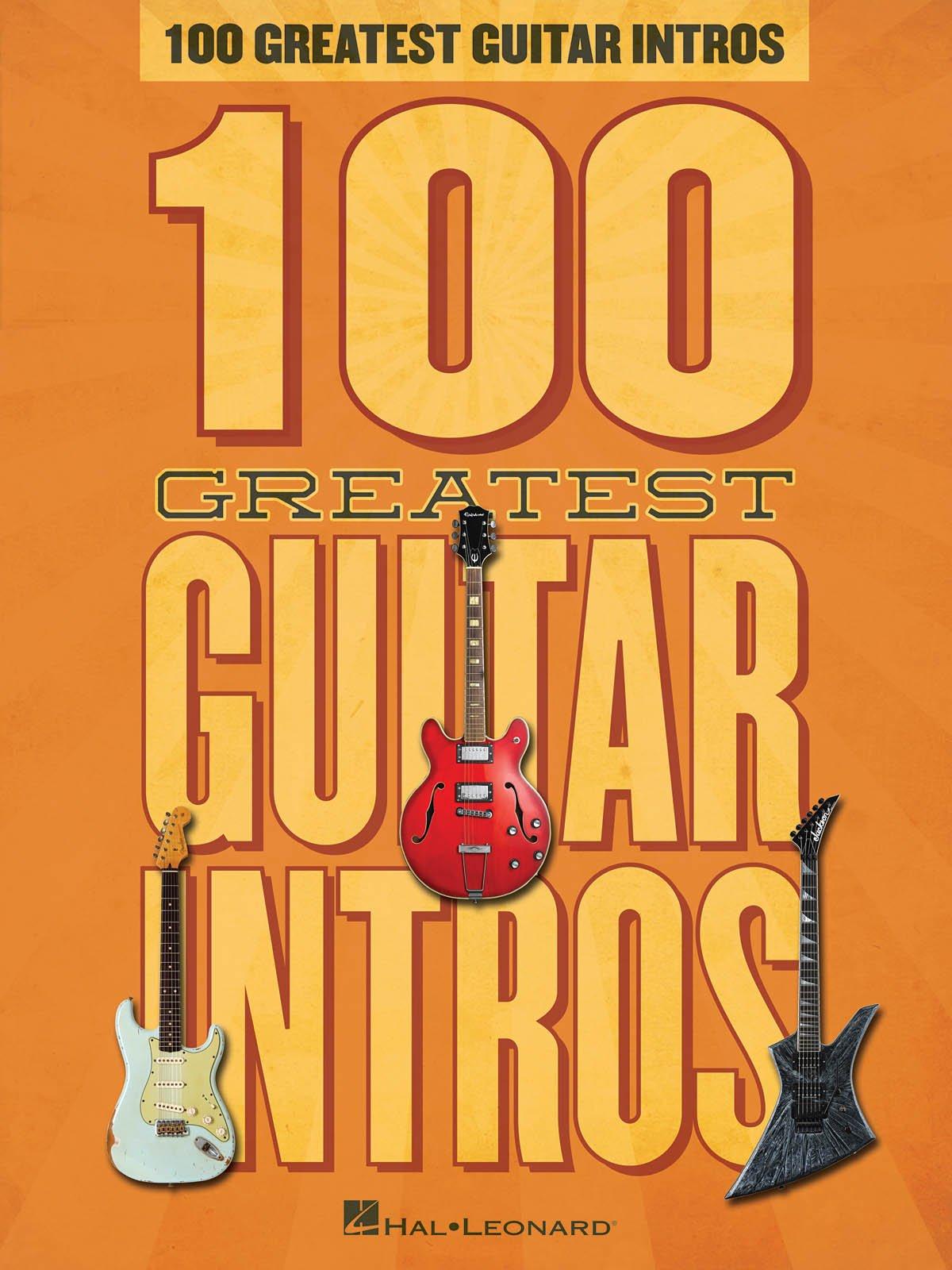 100 Greatest Guitar Intros: Amazon.es: Hal Leonard Corp: Libros en ...