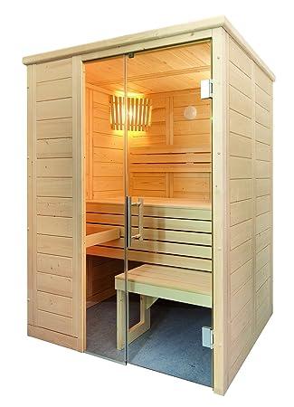 Alaska Sauna Mini Saunakabine Fichtenkabine Mit Linden