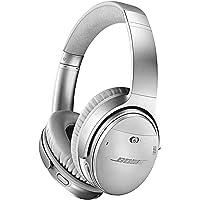 Bose QuietComfort QC35 II 2代 头戴式 无线 蓝牙 降噪 立体声 耳机-银色