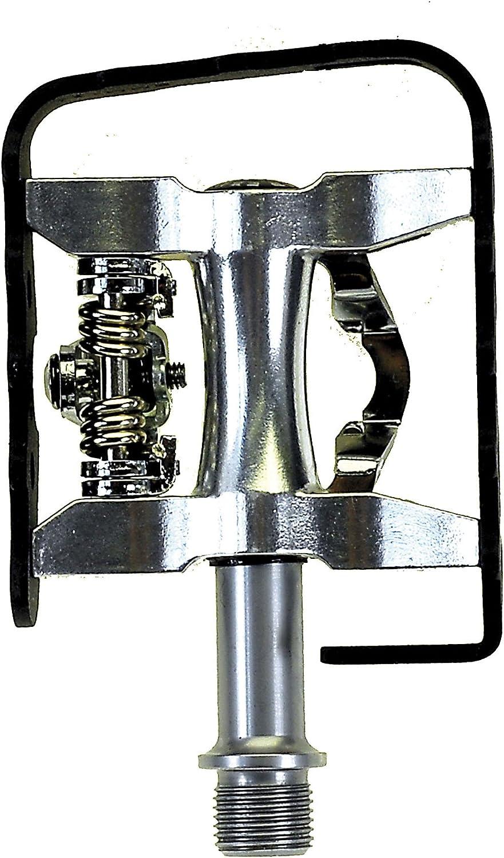 E x ustar 311811 P/édale semi-automatique Noir//Argent