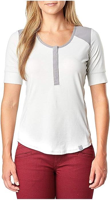 5.11 Tactical 31146 - Camiseta de Entrenamiento para Mujer, diseño de Willow Henley