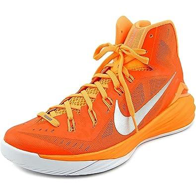 the best attitude ec048 e0a02 Nike Hyperdunk 2014, Orange Blaze Bright Citrus-White-Metallic Silver, 10  D(M) UK 45 D(M) EU  Amazon.co.uk  Shoes   Bags