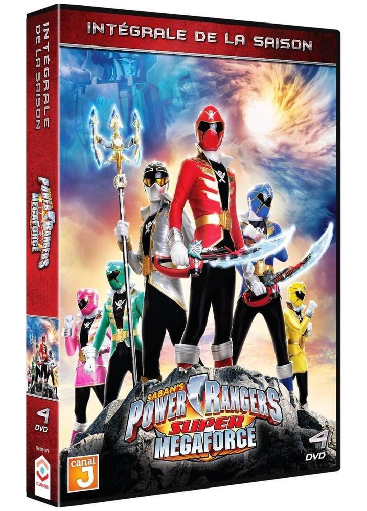 Amazon.com: Power Rangers Super Megaforce - Intégrale de la ...