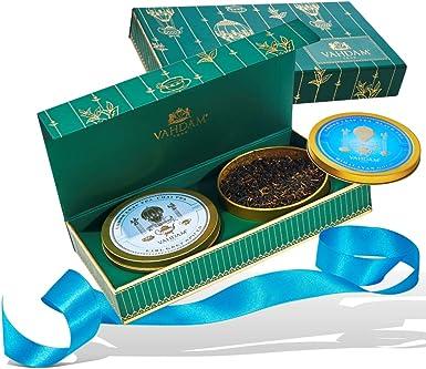 VAHDAM, DUO de Tea Master - El mejor juego de regalo de té | 2 premiadas mezclas