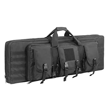 Amazon.com: XWLSPORT AK47/AR16 - Funda para rifle táctico de ...