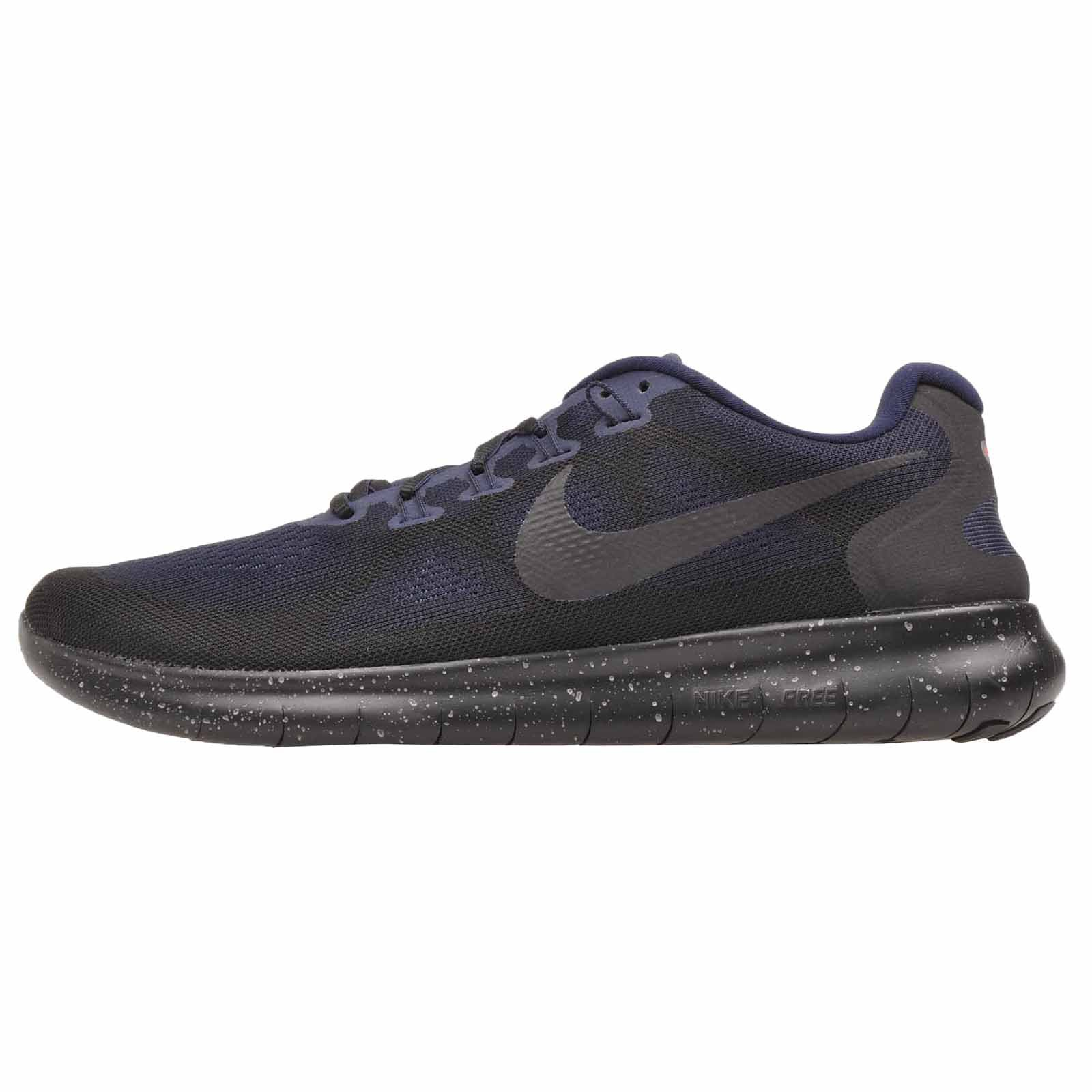 Nike Men's Free RN 2017 Shield, Black/Black-Black-Obsidian, 8 M US