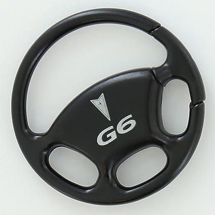Pontiac G6 negro volante llavero: Amazon.es: Coche y moto
