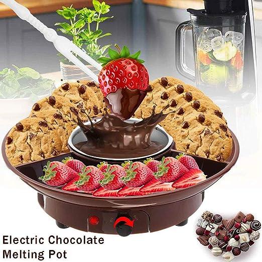 KangHan Cafetera eléctrica Fondue de Chocolate Fabricante, Postre ...