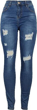 Barfly Fashion New Ladies Womens High Waisted Skinny Plus Size Casual Stretchy Slim Skinny Fit Denim Jeans UK Size 8-26