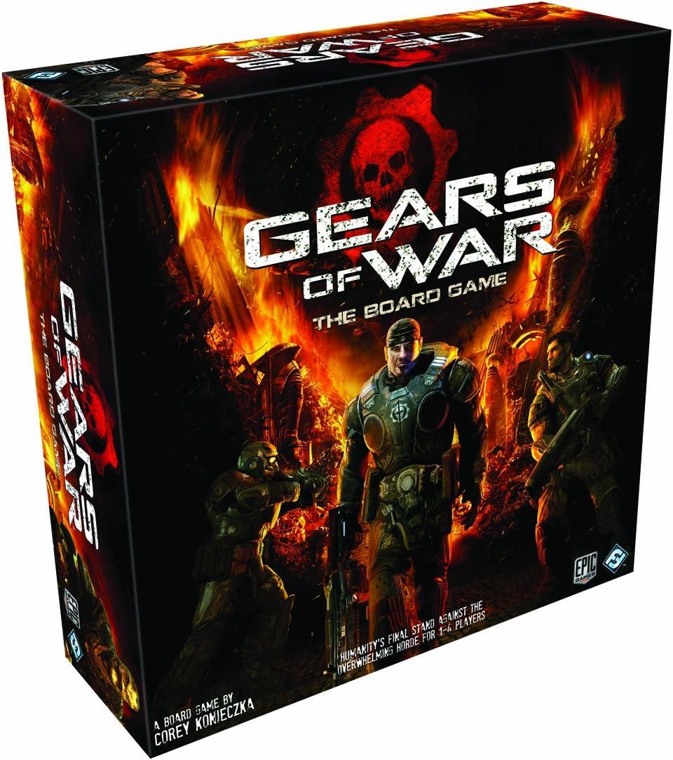 Edge Entertainment - Gears of War, juego de mesa (EDGGE01): Amazon ...