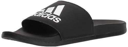 official photos 8990a c99a9 adidas Mens adilette Comfort Slides