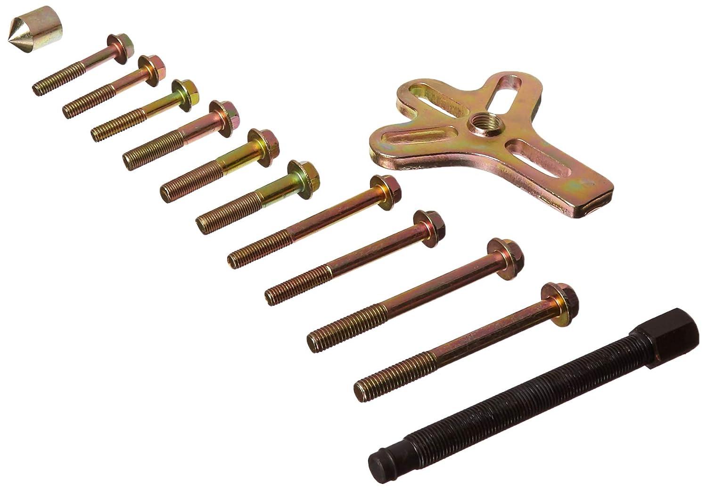 Vector Tools Harmonic Balancer Steering Wheel Gear Puller Kit 13pcs with Case FBA_67541