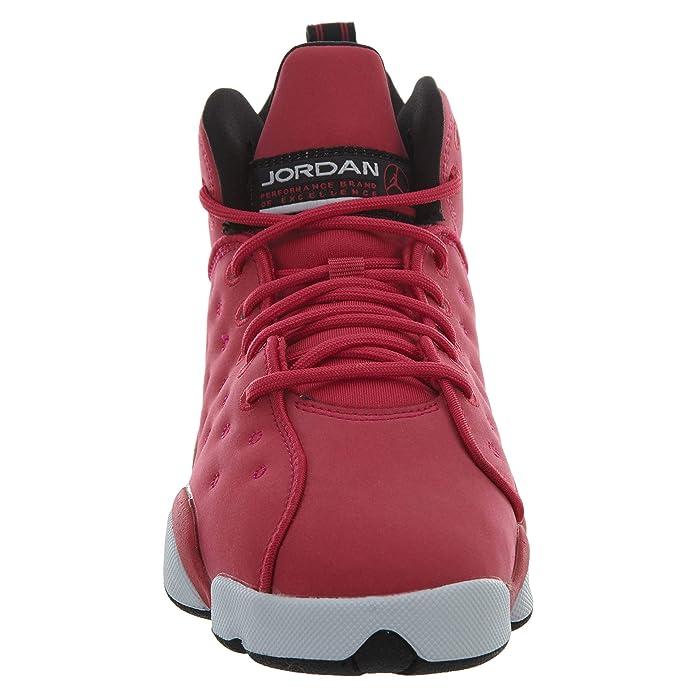 21a42eb23bc994 Amazon.com  Jordan Girls Jumpman Team II (GS) - 820276-600 - Rush Pink Rush  Pink-Black-DK Smoke Grey - SZ. 9.5 Y (US)  Shoes