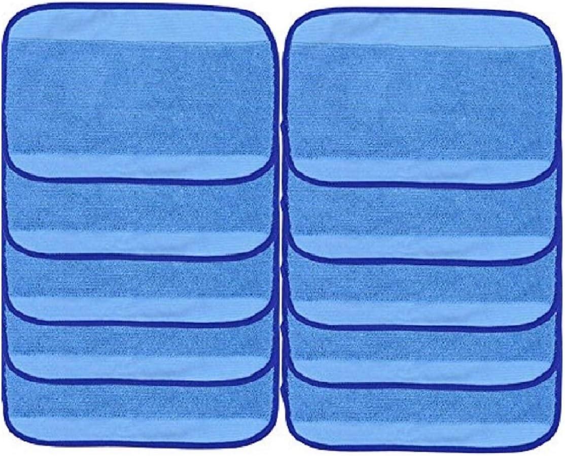 10 mop pads humedos para  iRobot Braava 380 380t 320 321
