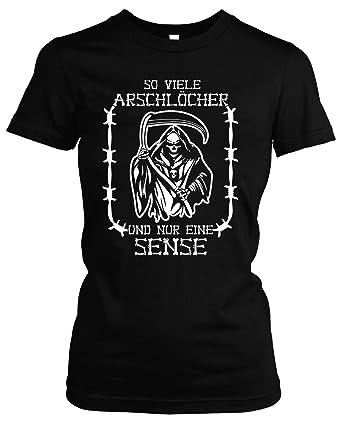 So Viele Arschlocher Girlie Shirt Geschenk Spass Herrentag