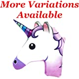 "Unicorn 12"" Christmas Throw Pillow 