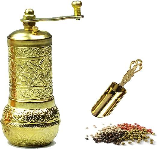 Antique Pepper Salt Grinder Coffee Spice Grinder Mil