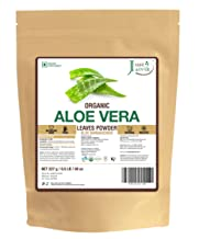 100% Organic Aloe Vera Powder - 227g/0.5 LB USDA Organic Certified
