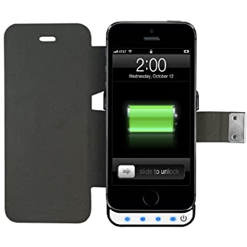 Swees® Funda Carcasa con Bateria iphone 5 / 5s Power Pack ...