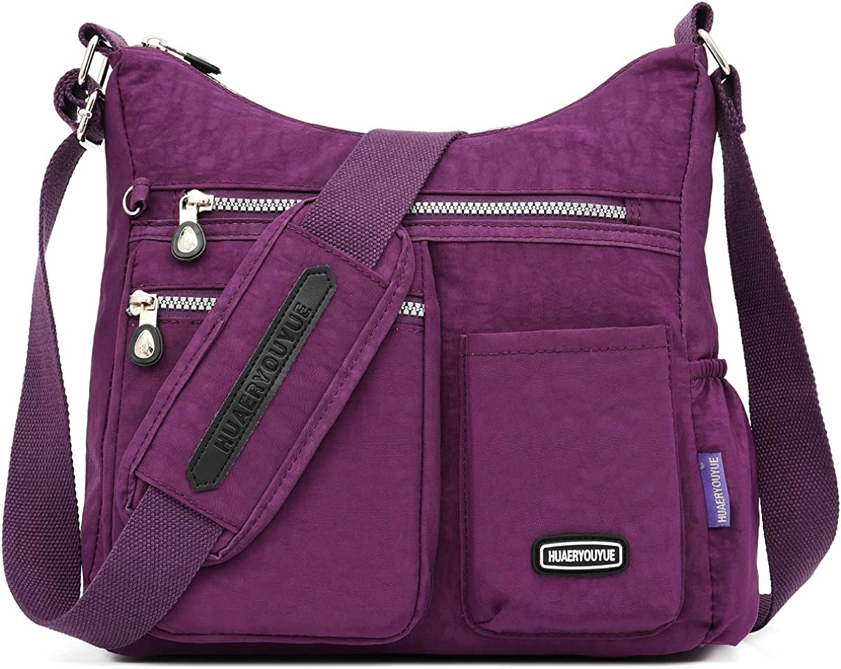 STUOYE Crossbody Bag Multi...
