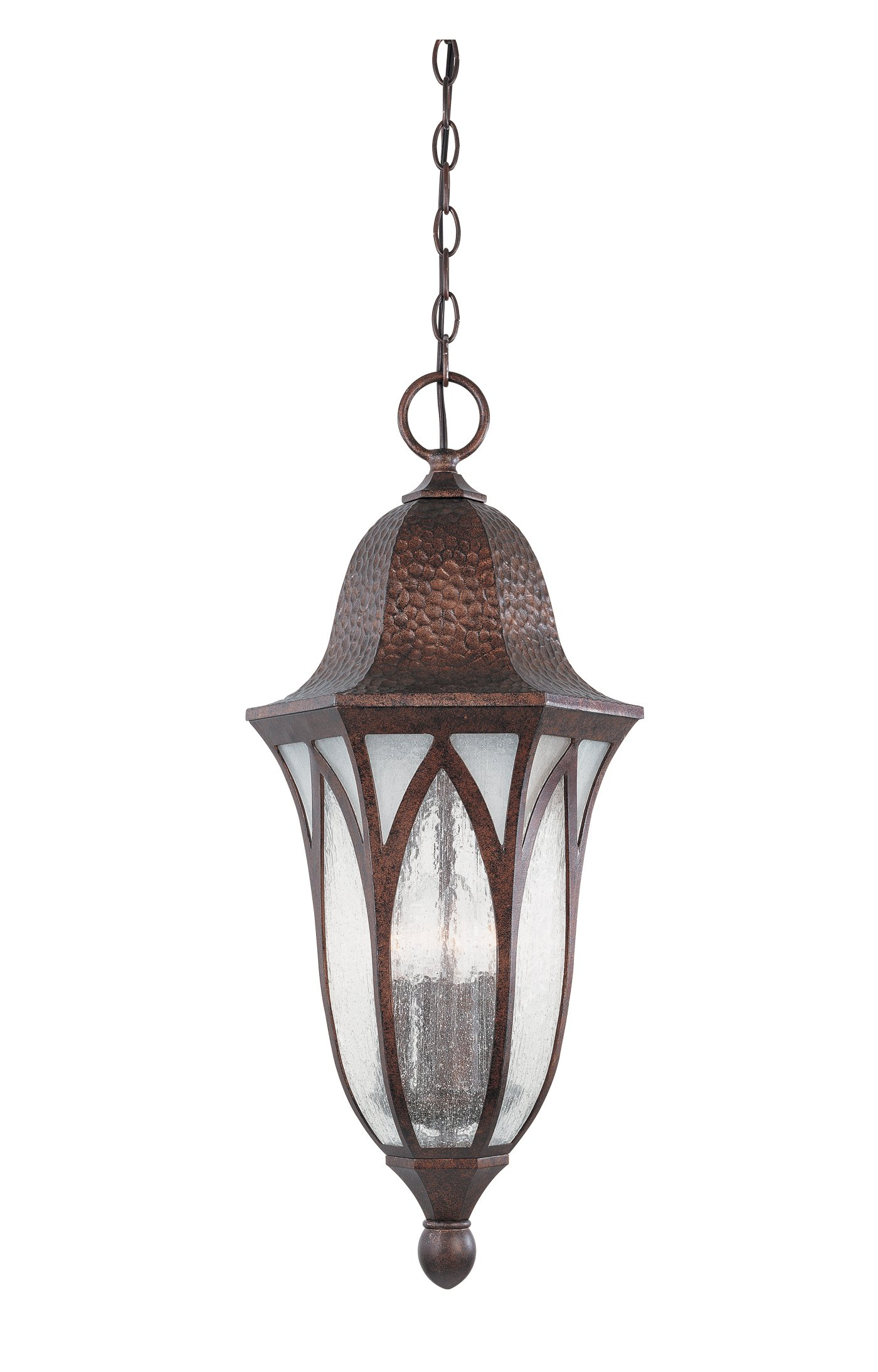 Designers Fountain 20634-BAC Berkshire Hanging Lanterns, Burnished Antique Copper