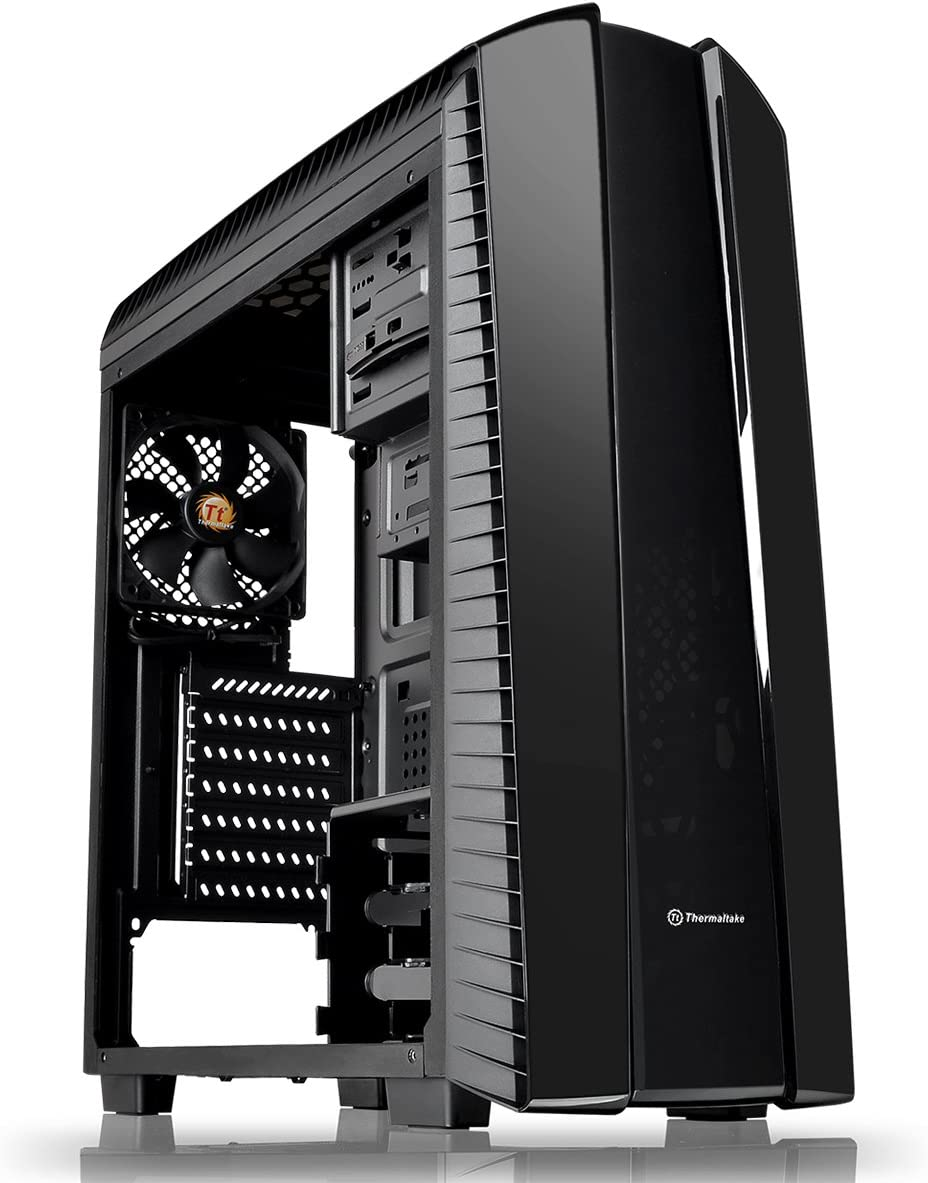 Thermaltake Versa N27 Midi-Tower Negro Carcasa de Ordenador - Caja de Ordenador (Midi-Tower, PC, SPCC, ATX,Micro-ATX,Mini-ITX, Negro, Juego): Amazon.es: Informática