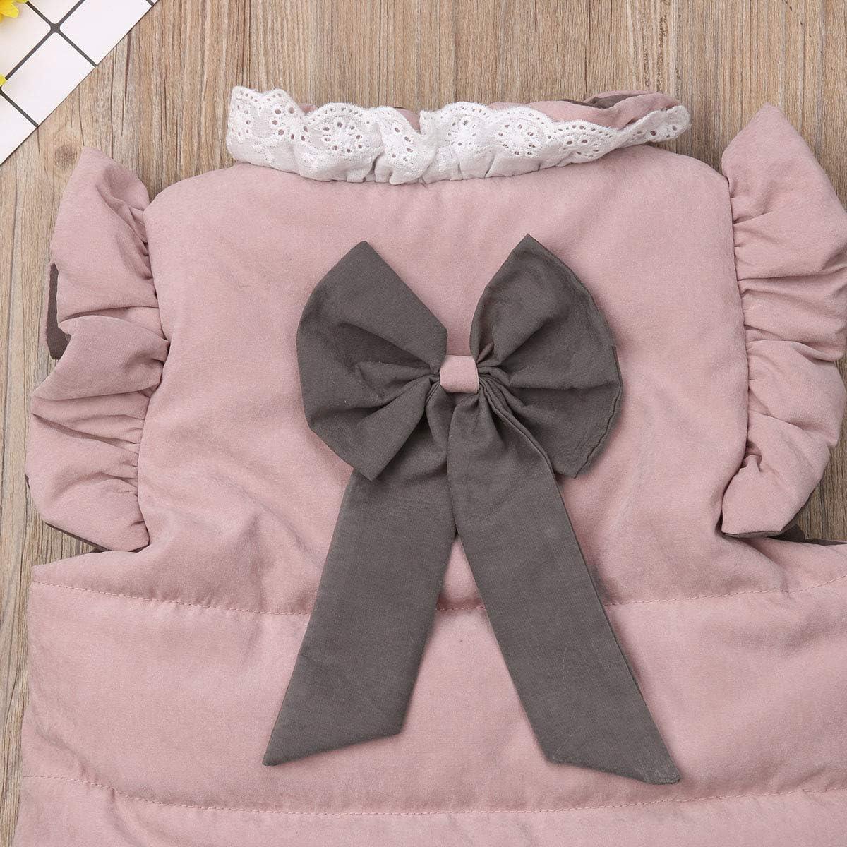 Baby Girl Cotton Warm Vests Unisex Infant Toddler Baby Silk Like Padded Waistcoat