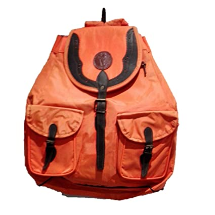 Mochila Fabricada en Cordura de Color Naranja. Medidas 50x47x27