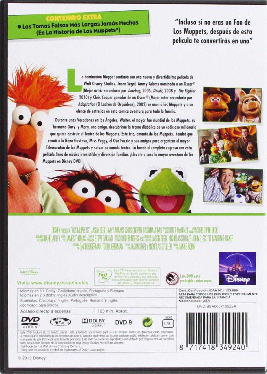 Amazon.com: Los Muppets (Import Movie) (European Format - Zone 2 ...