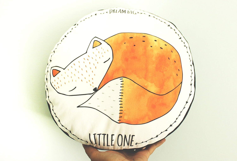 Nursery fox pillow