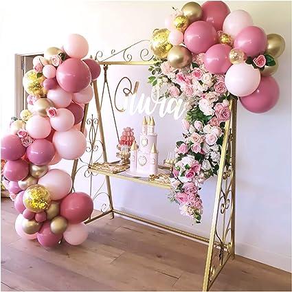 Amazon.com: Kit de arco de guirnalda de globos, globos de ...