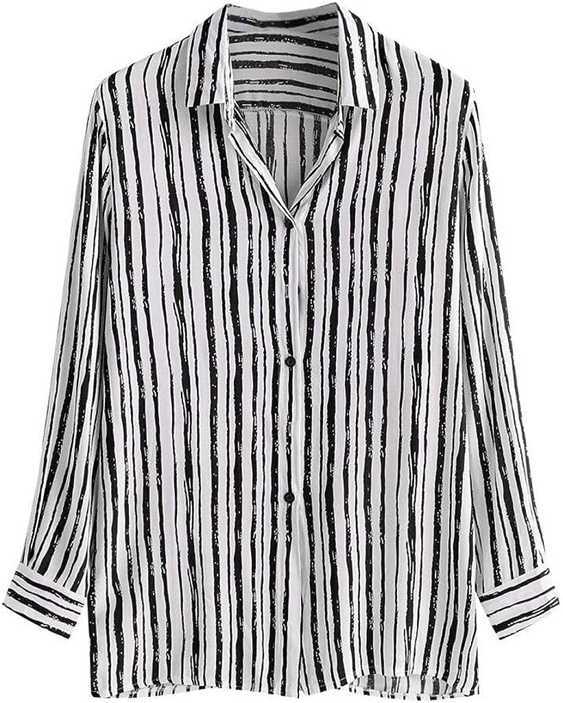 STORTO Mens Hawaii Printed Shirts Long Sleeve Button Down Banded Collar Loose Summer Casual Shirts Tops