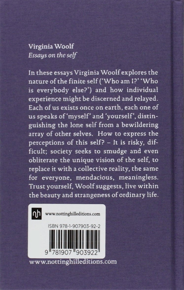 virginia woolf essays on the self classic collection co virginia woolf essays on the self classic collection co uk virginia woolf joanna kavenna 9781907903922 books