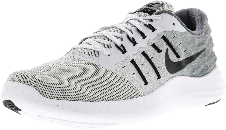 Nike Lunarstelos, Zapatillas de Running para Hombre 42 EU|Plateado (Pure Platinum / Black-cool Grey-white)