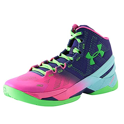 classic fit d279f 5cade Under Armour Curry 2 Northern Lights 1259007-652 US Size 8 ...