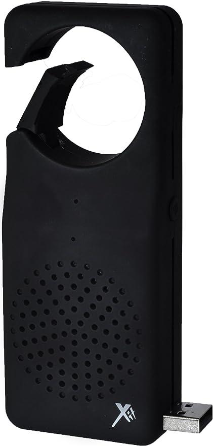 Xit AXTCXLBK Bluetooth Clip XL Speaker Black