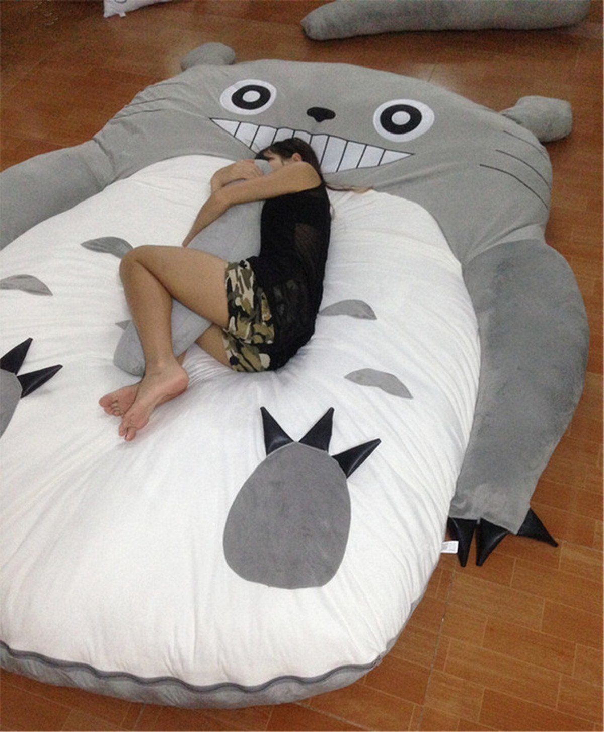 HOT SALE Children's and Adult Totoro Design Big Sofa Totoro Bed Mattress Sleeping Bag Mattress by VU ROUL (Image #6)