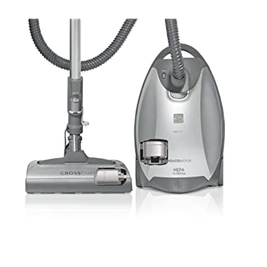 Kenmore Elite 21814 Pet & Allergy Friendly CrossOver Canister Vacuum in Silver/Gray