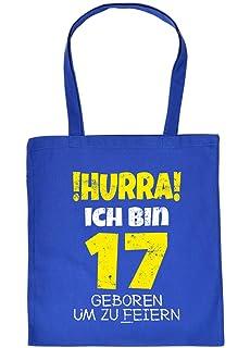 Witzige Geschenk Tasche Zum 16 Geburtstag Verpackung Hurra Ich Bin