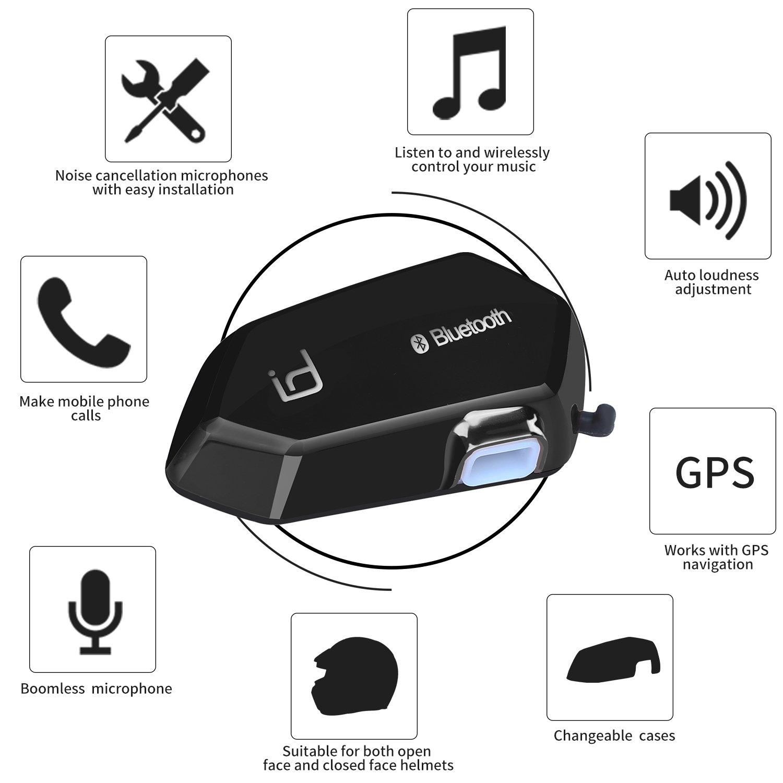id221 Moto A1 Motorcycle Helmet Bluetooth Communicator Fung Shing Company Limited