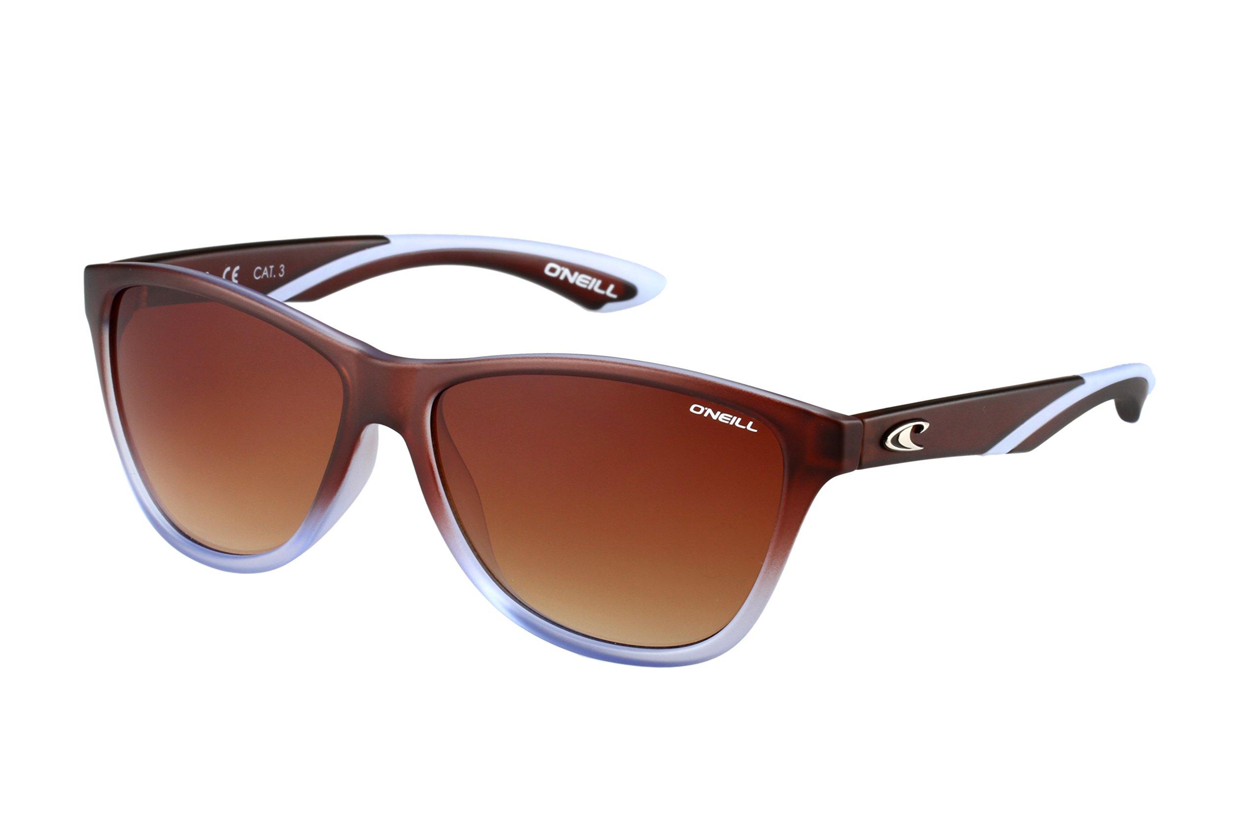 O'Neill VENUS Womens Sunglasses (Matte Brown/Blue Fade - Brown Gradient)