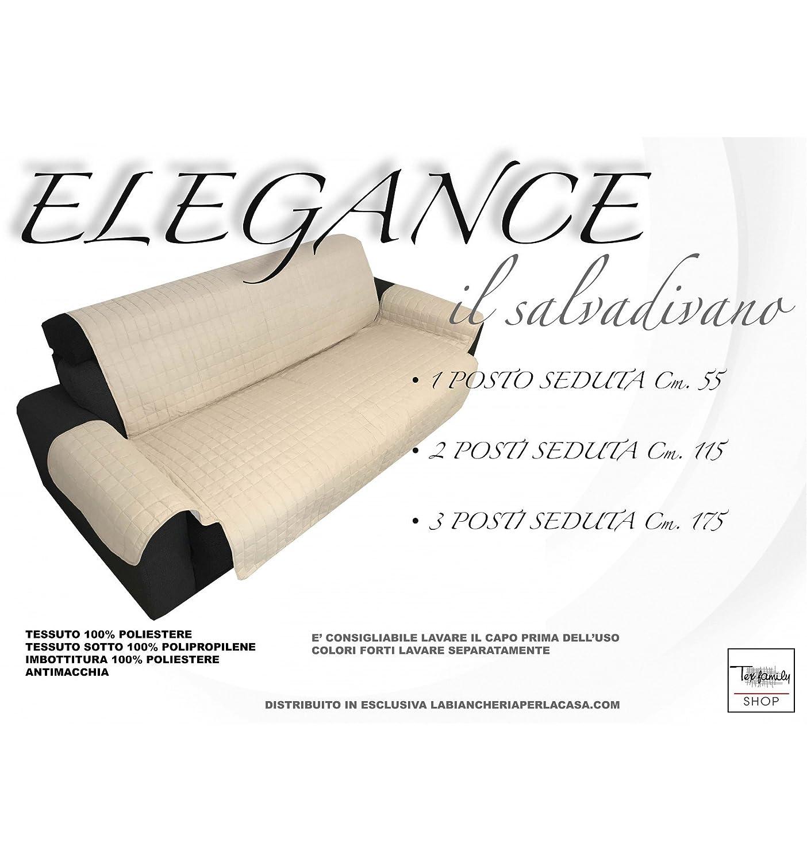 Funda para sofá Elegance, color crema, antimanchas - Funda ...