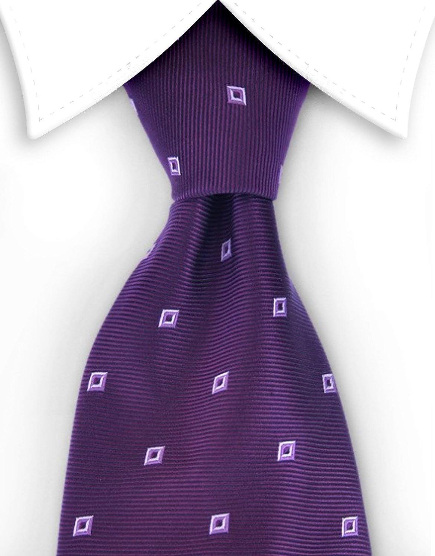 Diamond Bailey Purple Tie Multicolored