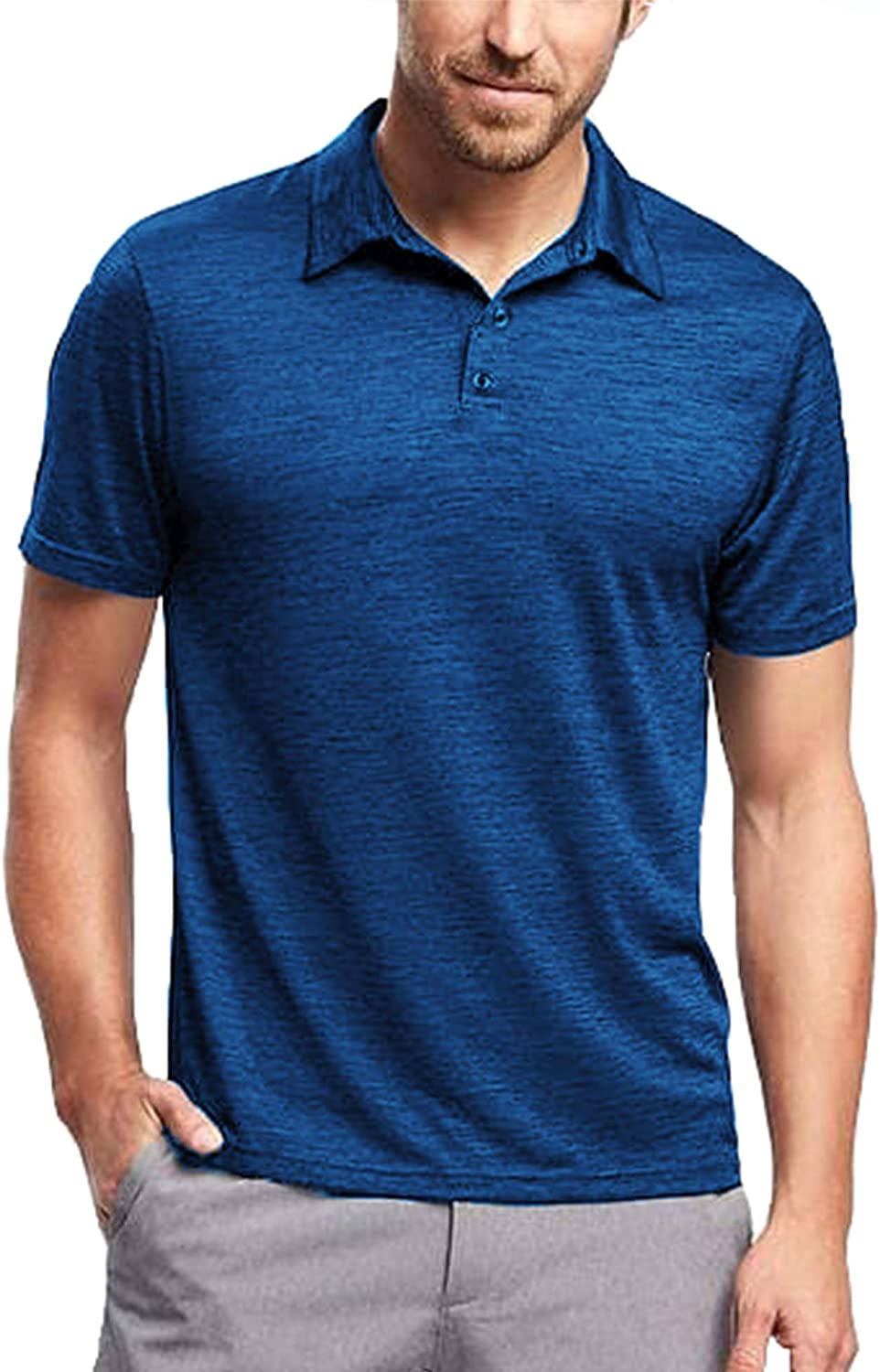 COOFANDY Men's Classic Slim Fit Polo Shirt Short Sleeve Solid Casual Shirts Athletic Golf Polo T-Shirt