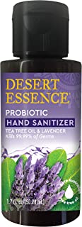 product image for Desert Essence Probiotic Hand Sanitizer - Tea Tree Oil & Lavender - 1.7 Fl Ounce - Soft & Moisturized - Portable