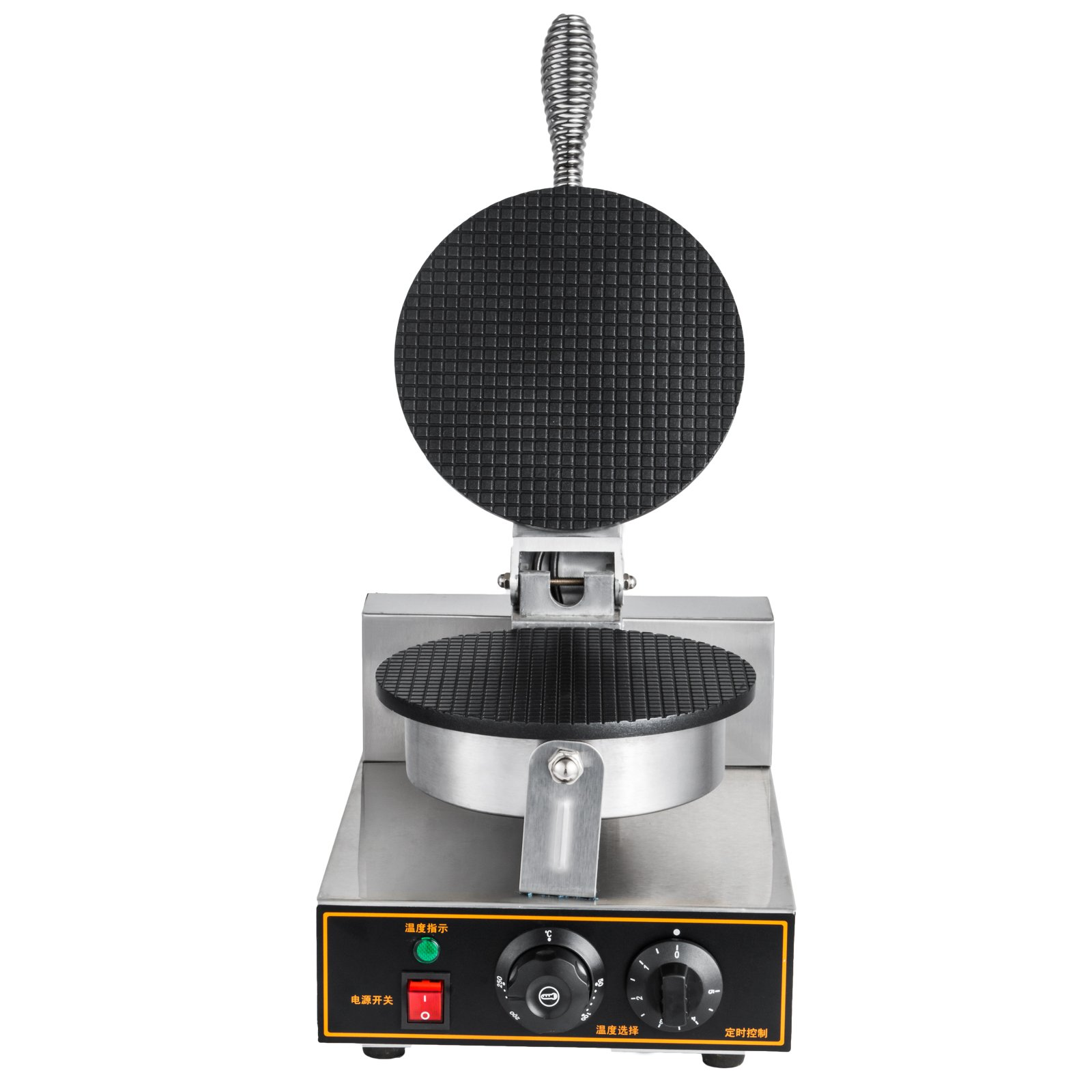 Jinon 110V Waffle Bake Machine, Electric Egg Cake Oven Puff Bread Maker Stainless Steel Anti-Scalding Effect Practical Not Perishable