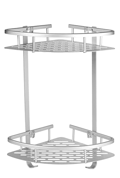 Amazon.com: Homeries Shower Caddy - Durable 2 Layers No Rust ...