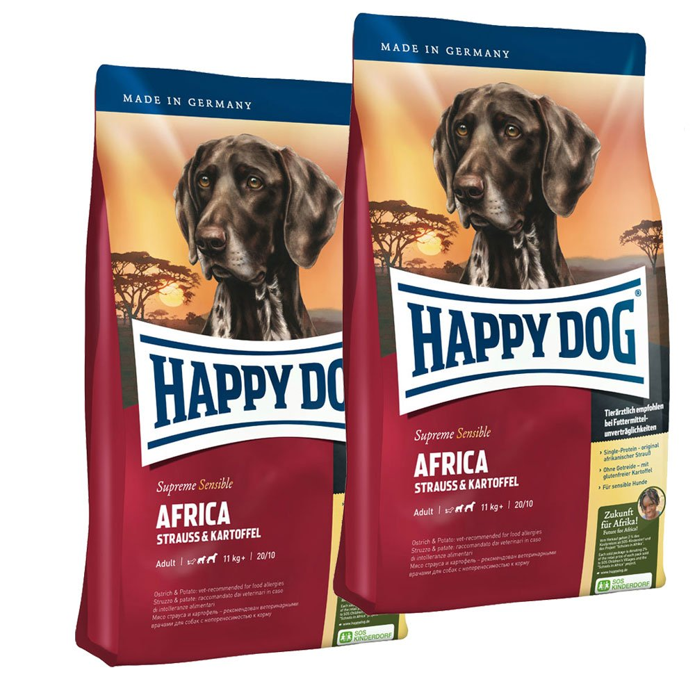 Happy Dog Hundefutter Supreme Africa